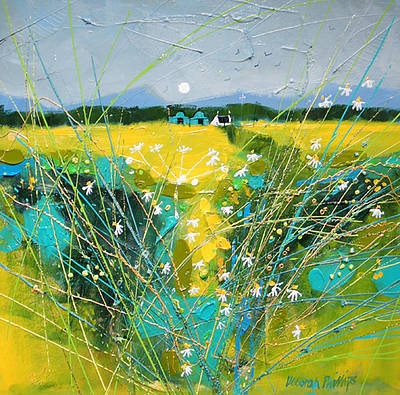 Scottish Artist Deborah PHILLIPS - Fresh Fields