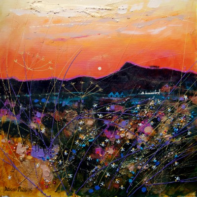 Scottish Artist Deborah PHILLIPS - Russet Sunset