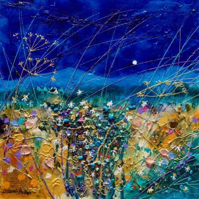 Scottish Artist Deborah PHILLIPS - Summer Evening Blue