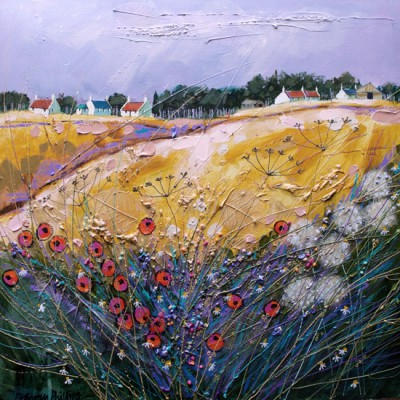 Summer Squall painting by artist Deborah PHILLIPS