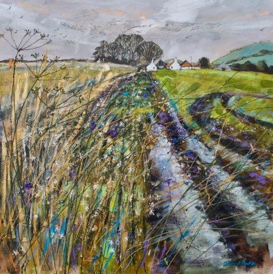 Deborah PHILLIPS - Wet Furrows near Drumeldrie