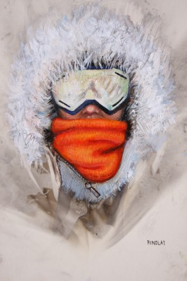 Scottish Artist Denise FINDLAY - Icy