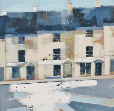 Afternoon Stroll, Bath painting by artist Dionne SIEVEWRIGHT