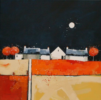 Scottish Artist Dionne SIEVEWRIGHT - Me and the Moon