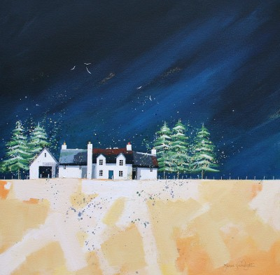 Scottish Artist Dionne SIEVEWRIGHT - Harvest Taft