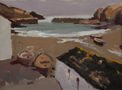 Donald MCINTYRE - Low Tide, Port Issac