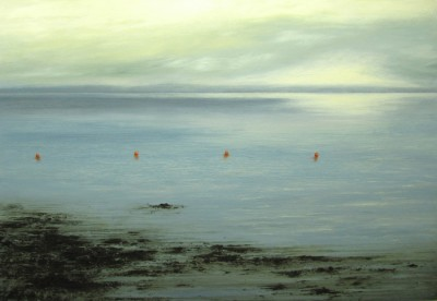 Scottish Artist Donald PROVAN - Shoreline