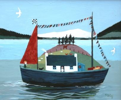 Scottish Artist Dorothy STIRLING - Off to see the World
