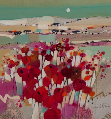 Scottish Artist Emma DAVIS - Poppies