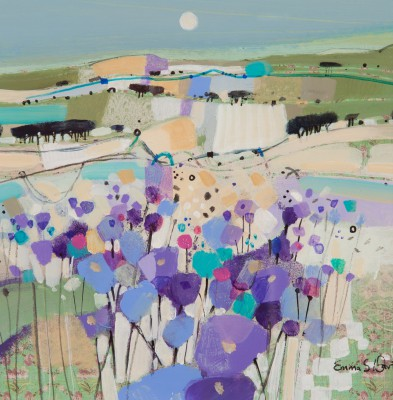 Scottish Artist Emma DAVIS - Moonlight and Memories