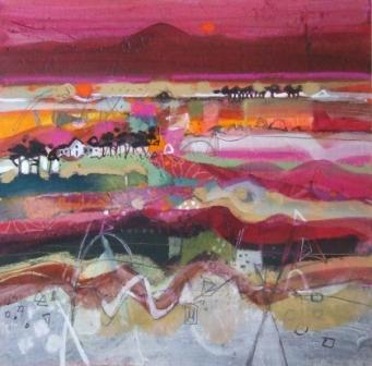 Scottish Artist Emma DAVIS - Evening Glow