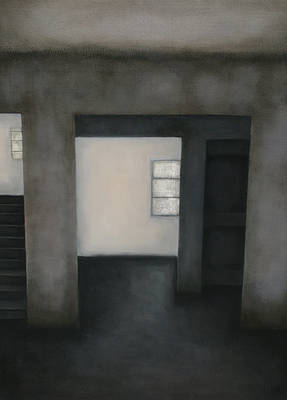 Scottish Artist Fiona NORTH - Grey Shadows