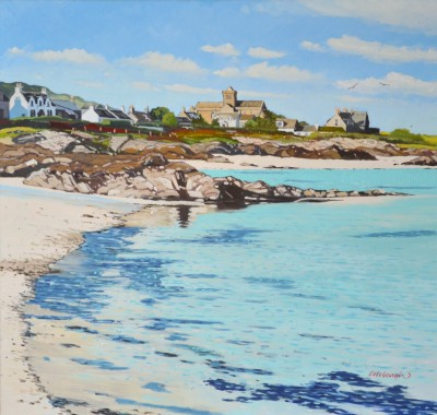 Scottish Artist Frank COLCLOUGH - Serenity-Iona