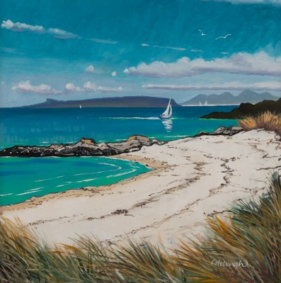 Frank COLCLOUGH - Small Isles From Camusdarach