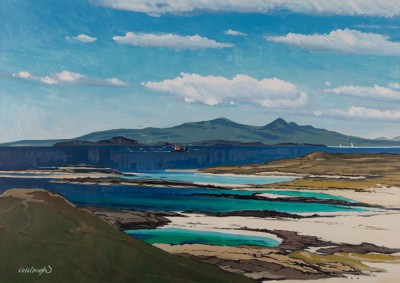 Scottish Artist Frank COLCLOUGH - Rum From Sanna