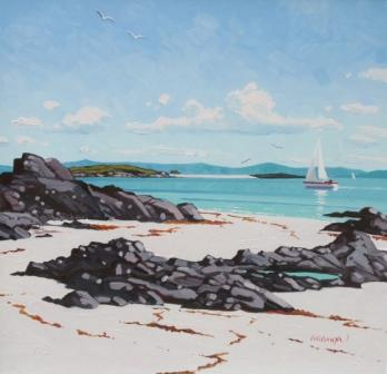 Frank COLCLOUGH - North Beach, Iona
