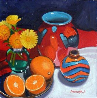 Scottish Artist Frank COLCLOUGH - A Harmony Of Colour