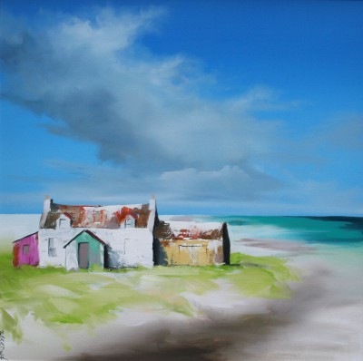 Scottish Artist Garry BRANDER - Enchants by the Tide