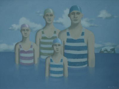 The Bathers painting by artist Garry HARPER