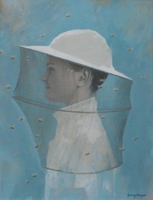 The Bee Charmer painting by artist Garry HARPER