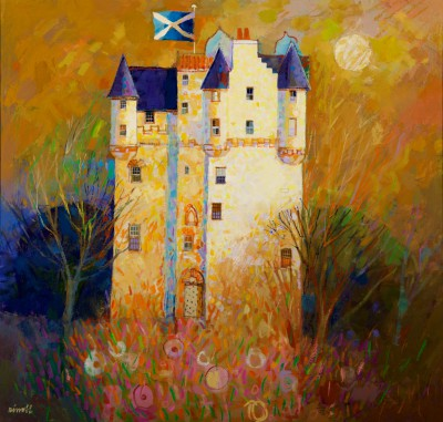 George BIRRELL - Saltire in the Wind