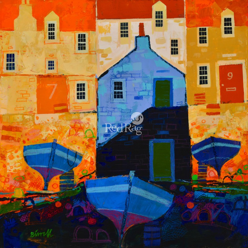 George BIRRELL - Three Boats