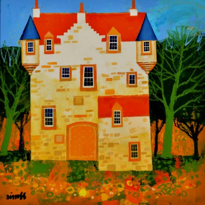 Castle Garden painting by artist George BIRRELL
