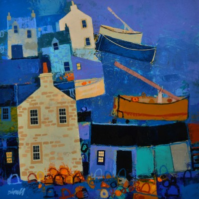Scottish Artist George BIRRELL - Ropes and Nets