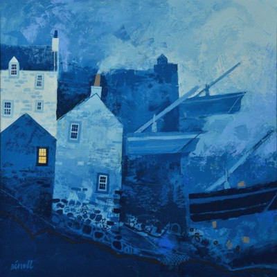 George BIRRELL - Stormy Harbour