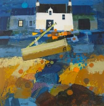 Scottish Artist George BIRRELL - Nets and Floats