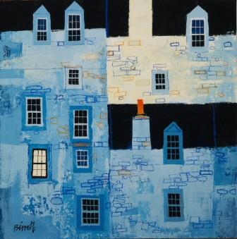 Scottish Artist George BIRRELL - House Backs