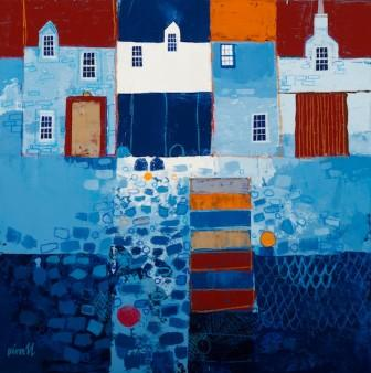 Scottish Artist George BIRRELL - Fishboxes