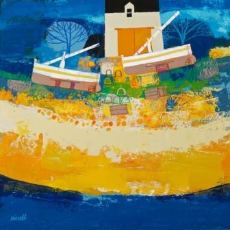 Scottish Artist George BIRRELL - The Water's Edge II