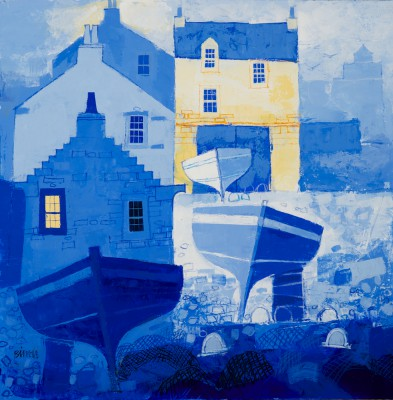 George BIRRELL - Bright Corner of the Harbour