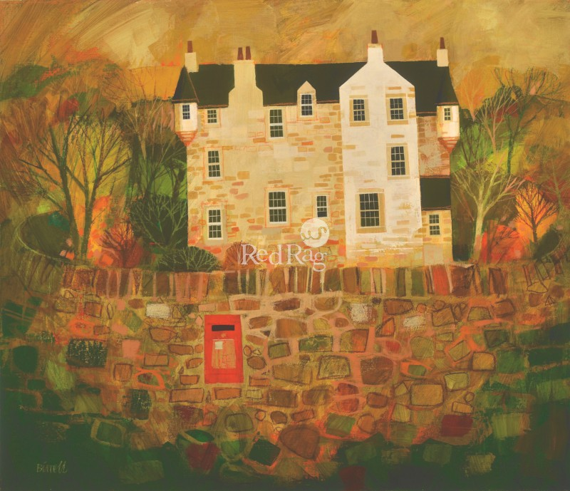 George BIRRELL - Castle Wall and Post Box