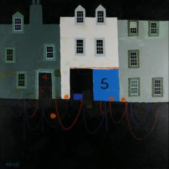 George BIRRELL - Drying Nets and Tarry Wall