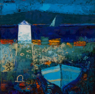 Scottish Artist George BIRRELL - Estuary