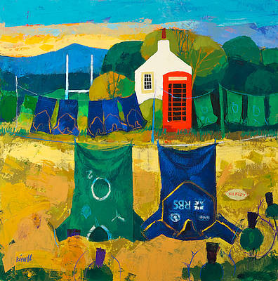 Scottish Artist George BIRRELL - International Washing Line