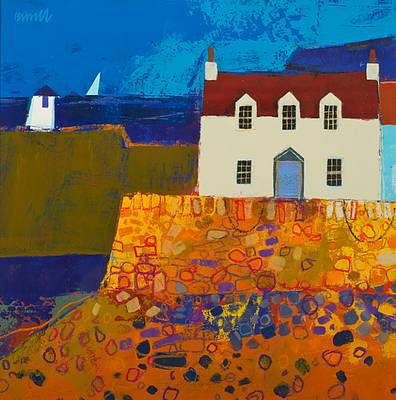 Scottish Artist George BIRRELL - Sail On the Horizon