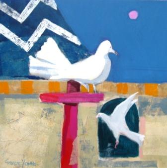 Scottish Artist Georgie YOUNG - Flight of Fancy