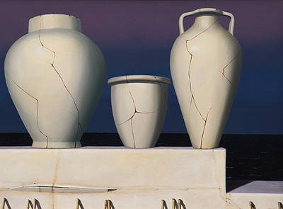 Scottish Artist Gordon MITCHELL - Three Graces