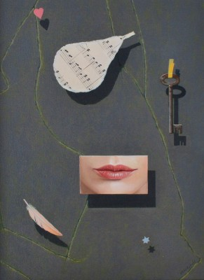 Scottish Artist Gordon MITCHELL - Objects of Desire II