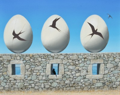 Scottish Artist Gordon MITCHELL - Free Range
