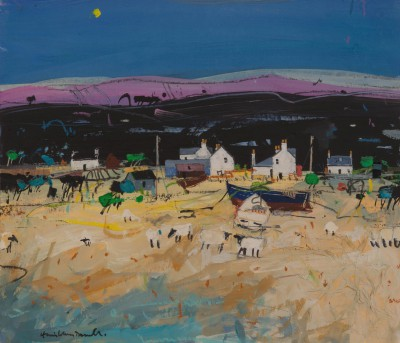Hamish MacDONALD - Shoreline Sheep and Crofts