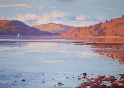 Scottish Artist Helen TURNER - Solitude Loch Sunart