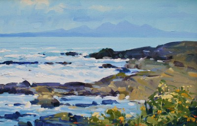Scottish Artist Helen TURNER - The Paps of Jura