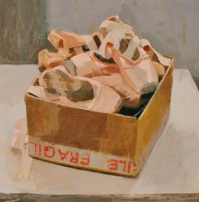 Scottish Artist Helen WILSON  RGI - Shoe Box