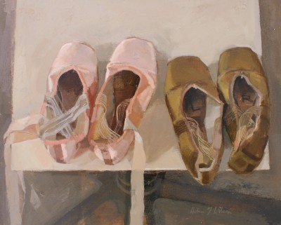Scottish Artist Helen WILSON  RGI - Two Pairs