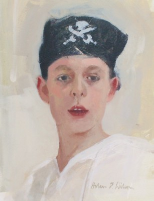 Scottish Artist Helen WILSON  RGI - Boy