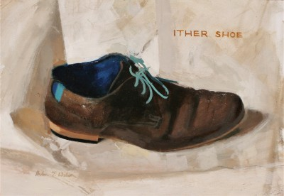 Ither Shoe painting by artist Helen WILSON  RGI
